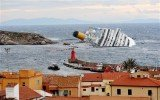 The wrecked Costa Concordia is being raised in one of the biggest maritime salvage operations in history