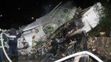 TransAsia Airways plane, carrying 58 people, crashed into buildings after a failed attempt to land at Magong airport