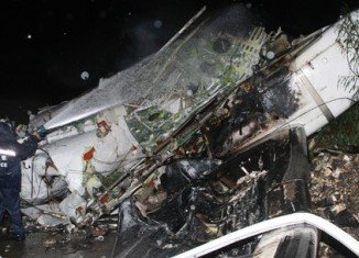 TransAsia Airways plane, carrying 58 people, crashed into buildings after