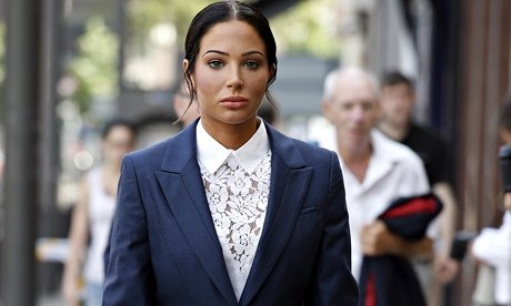 Tulisa Contostavlos has been found guilty of assaulting celebrity blogger Savvas Morgan at the V Festival