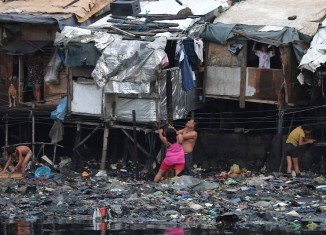 Typhoon Rammasun has killed 38 people and left millions without power in central Philippines