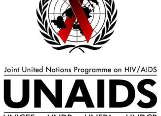 UNAIDS report said the number of new HIV infections and deaths from AIDS were both falling