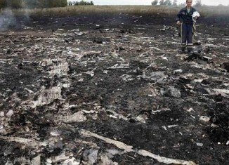Ukrainian authorities intercepted phone conversations between pro-Russian rebels and what appear to be Russian military officers saying that separatists shot down Malaysia Airlines flight MH17