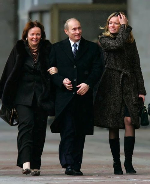 Vladimir Putin's daughter, Maria Putina, has fled her Dutch home as fury grows over Malaysia Airlines tragedy.