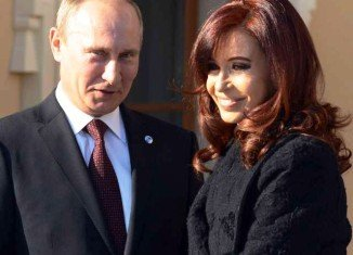 Vladimir Putin has been holding bilateral talks with President Cristina Fernandez de Kirchner during his visit to Argentina