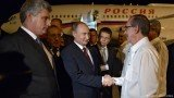 Vladimir Putin has begun his Latin American tour by visiting Cuba,