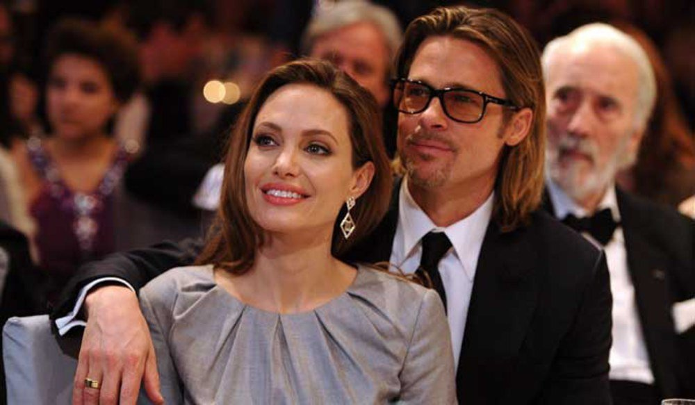 Angelina Jolie and Brad Pitt get married in France ... Angelina Jolie Brad Pitt