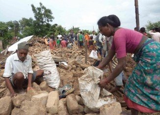 At least 101 people were known to have died in Nepal floods