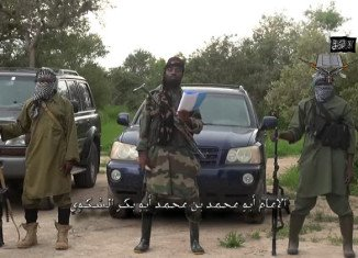 Boko Haram leader Abubakar Shekau was speaking in a video released to congratulate his fighters for seizing the town of Gwoza earlier this month