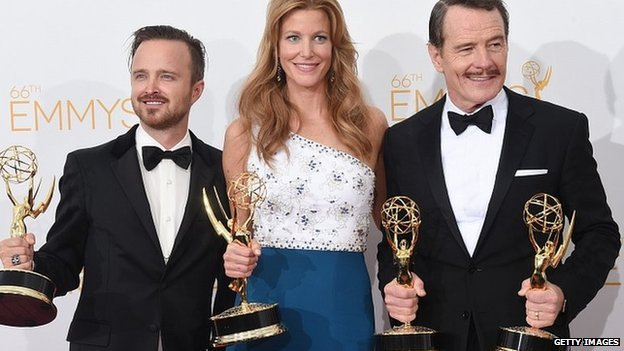 Breaking Bad was the biggest winner at the 66th Annual Primetime Emmy Awards