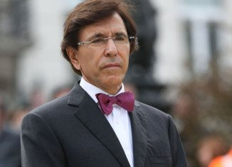 Elio Di Rupo's laptop has been stolen after a thief broke into his car in Brussels