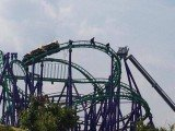 Firefighters were called to the Six Flags theme park after a fault occurred on the Joker's Jinx