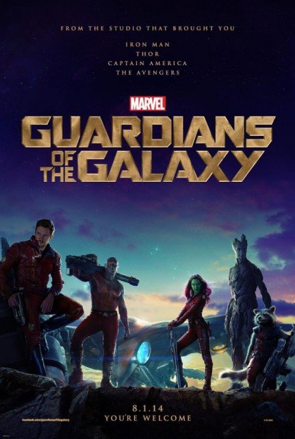 Guardians of the Galaxy has topped the North American box office in its debut weekend, taking $94 million