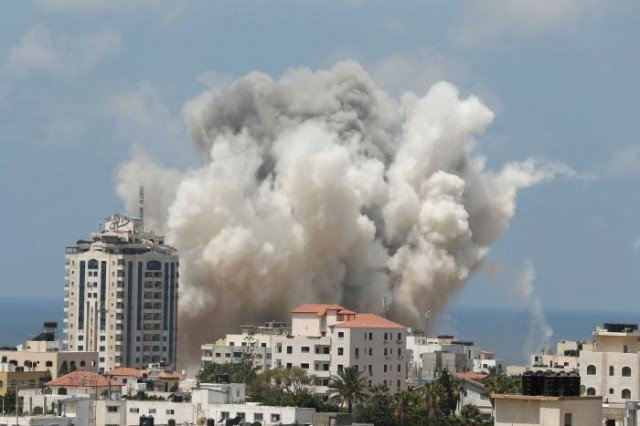 Hamas commanders Mohammed Abu Shamala, Mohammed Barhoum and Raed al-Attar died in an Israeli attack near the southern town of Rafah