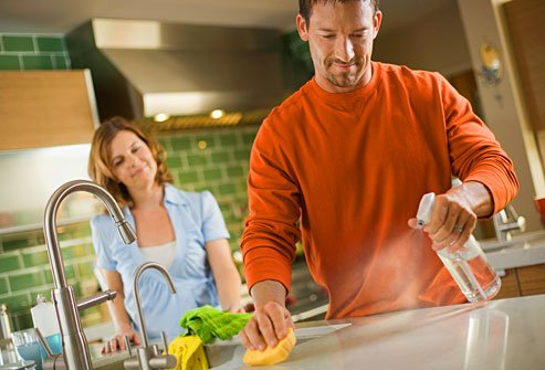 Hidden germs like Salmonella, Listeria, E. coli, plus mold and yeast are lurking in your kitchen