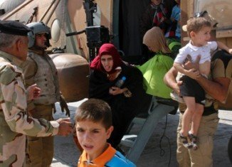 Humanitarian aid drops have been made by the US planes to the besieged Iraqi town of Amirli
