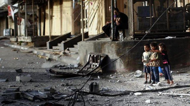 Israel has announced a seven hour humanitarian ceasefire in parts of Gaza 640x359 photo
