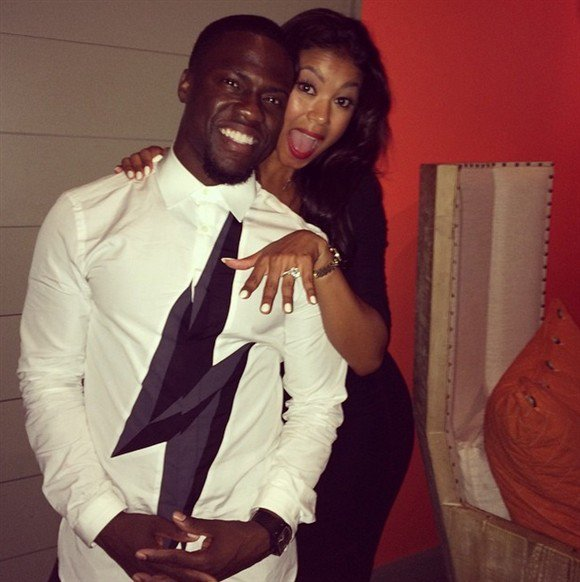 Kevin Hart has announced his engagement to girlfriend Eniko Parrish
