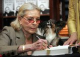 Lauren Bacall has left $10,000 for the care of her beloved dog, Sophie