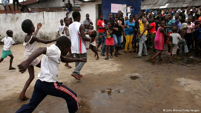 Ebola Outbreak Liberia Admits West Point Patients Lost