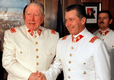 Lieutenant-General Ricardo Izurieta took over from General Augusto Pinochet as commander-in-chief of the Army in March 1998