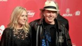 Neil Young met Pegi when she was working as a waitress at a diner near his California ranch