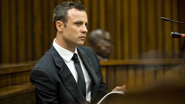 Oscar Pistorius denies prosecution claims that he deliberately shot Reeva Steenkamp