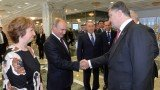 Petro Poroshenko met Vladimir Putin for direct talks in Belarus