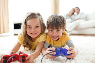 Playing video games for a short period each day could have a small but positive impact on child development