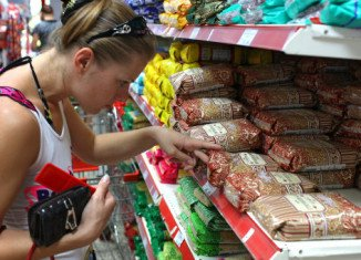 Russian food prices are rising after the state embargo on imports from Western countries