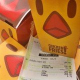 Scott Disick showed off his purchase of 45 boxes of Burger King 9-piece chicken fries