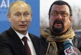 Steven Seagal has played a concert in Crimea on a stage adorned with the flag of pro-Russian separatists in Ukraine