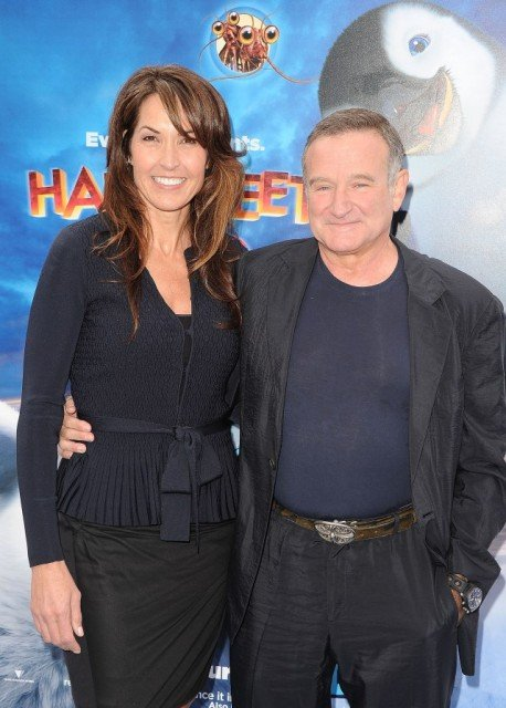 Susan Schneider was the third wife and now widow of late actor Robin Williams