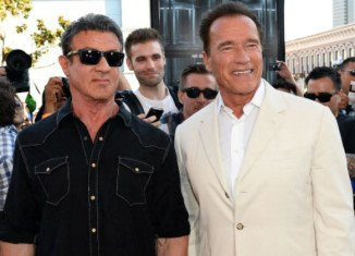 Sylvester Stallone and Arnold Schwarzenegger were deadly enemies at the height of their careers