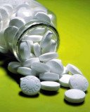 Taking aspirin every day can reduce the chance of developing or dying from bowel and stomach cancers