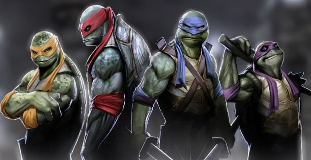 Teenage Mutant Ninja Turtles has topped the US and Canada box office, taking $65 million