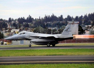 The Massachusetts Air National Guard F-15 jet has crashed in Virginia