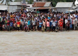 The ferry carrying about 200 passengers has capsized south-west of capital Dhaka