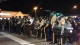 Thirty one people have been arrested in Ferguson, Missouri, during another night of angry protests