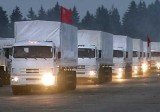 Ukraine has set conditions for receiving Russian aid in the east, after a huge convoy of food and medicine set off from outside Moscow