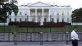 A second fence has been erected between the White House and a thoroughfare popular with tourists, local residents and workers