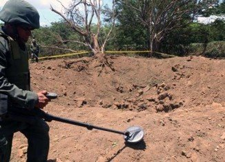 A small meteorite hit Managua on September 6
