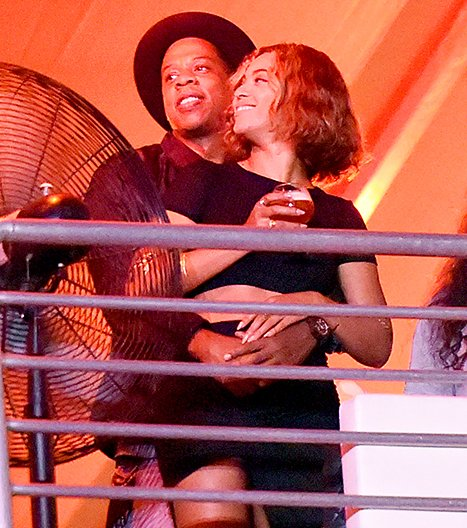 Beyonce and Jay-Z packed on the PDA at the 2014 Made in America festival over Labor Day weekend