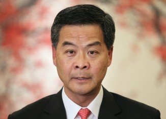 CY Leung has urged Occupy Central protesters to stop their campaign after tens of thousands of people have been blocking Hong Kong streets