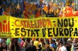 Catalonia has a large-scale support for independence from Spain