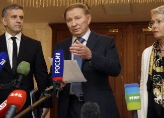 Former Ukrainian President Leonid Kuchma, representing Kiev at Minsk talks, said that all sides had agreed to move back some of their heavy weapons