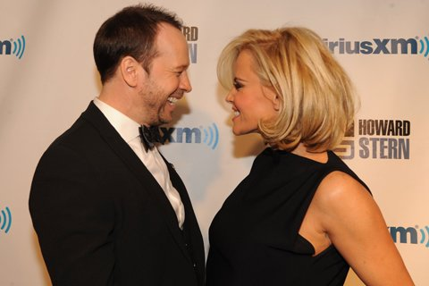 Jenny McCarthy and Donnie Wahlberg tied the knot on in the ballroom of the Hotel Baker in St. Charles