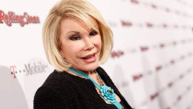 Joan Rivers wrote in 2012 about how she wanted her funeral to be a huge showbiz affair