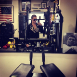 Khloe Kardashian took a selfie and admitted to recently gaining weight as she went to the gym
