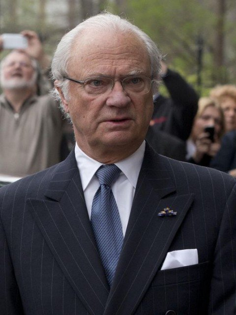 King Carl XVI Gustaf of Sweden has been involved in a car crash in Stockholm, but is not hurt